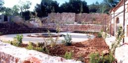 Astragale Abbaye du Thoronet - Ensemble du chantier terminé