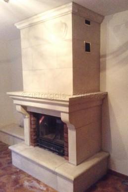 Astragale Restauration d'une cheminée - Chantier terminé