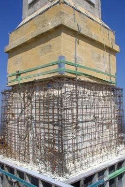 Astragale Croix de Provence (Sainte Victoire) - Socle en cours de restauration