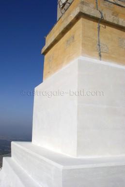 Astragale Croix de Provence (Sainte Victoire) - Socle après restauration