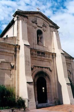 Astragale Eglise de la Capelette (Marseille) - Avant