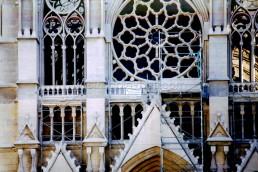 Astragale Eglise St Vincent de Paul Les réformés (Marseille) - Façade zoom