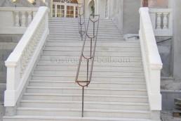 Astragale Musée d'Art et Tradition (Château Gombert) - Taille et pose de balustrade en pierre