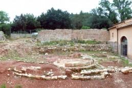 Astragale Abbaye du Thoronet - Etat des lieux après fouilles