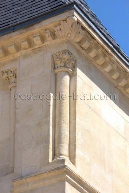 Astragale Château de Buzine (Marcel Pagnol) - Dépose de la partie haute et repose
