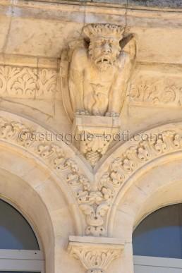 Astragale Château de Buzine (Marcel Pagnol) - Détail