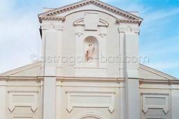 Astragale Eglise de la Capelette (Marseille) - Détail