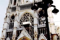 Astragale Eglise St Vincent de Paul Les réformés (Marseille) - Façade