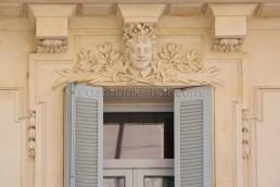 Astragale Façade rue Trinquet (Marseille) - Restauration et badigeon à la chaux