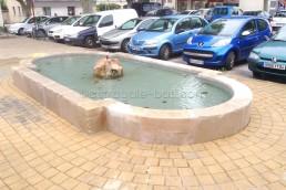 Astragale Fontaine Place Garcin (Pertuis) - Restauration et taille de pierre