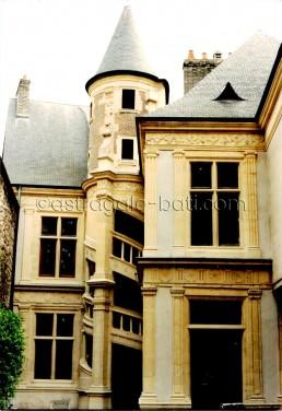 Astragale Hôtel de la Salle Reims (détail)