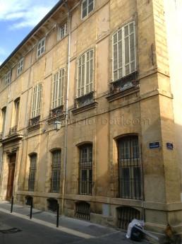 Astragale Hôtel de Simiane (Aix en Provence) - Avant