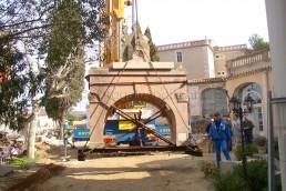 Astragale Musée d'Art et Tradition (Château Gombert) - Repose porche après travaux